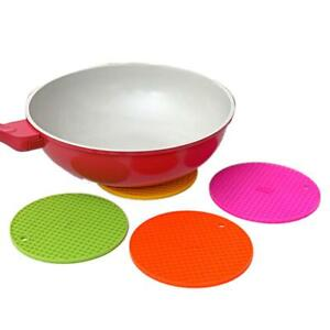 New Honeycomb Round Table Heat Resistant Mat Silicone