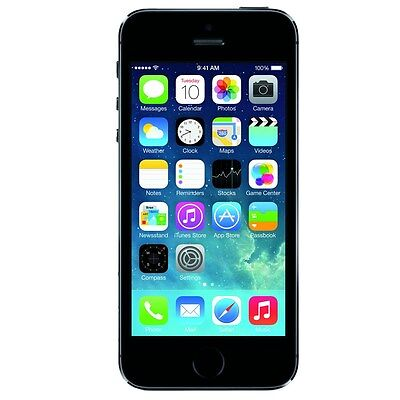 "Apple iPhone 5S 16GB ""Factory Unlocked"" 4G LTE iOS Smartphone"