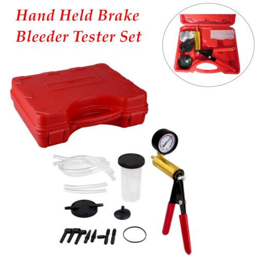 Hand Held Brake Bleeder Tester Set Bleed Kits Vacuum Pump Car Accessories
