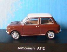AUTOBIANCHI A112 MARRON BRUN STARLINE 506847 1/43 WHITE ROOF TOIT BLANC BROWN
