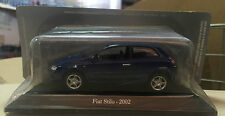 "DIE CAST "" FIAT STILO - 2002 "" + TECA RIGIDA BOX 2 SCALA 1/43"