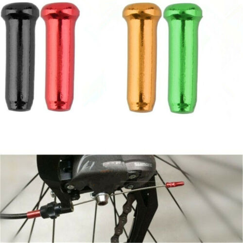50PCS Bike Bicycle Brake Shifter Derailleur Inner Cable Wire End Cap Crimps JT66