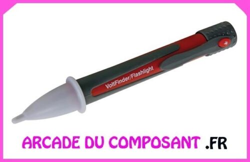 ref 55056-1 1 DETECTEUR DE TENSION CA SANS CONTACT AVEC LAMPE TORCHE LED