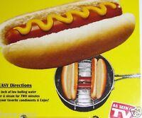 Hotdog Ez Bun Steamer Hot Dog Steam Buns Boil Food Kitchen Cooking