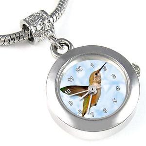 Jewelry & Watches Watches, Parts & Accessories Discreet Hummingbird Silver Bracelet European Bead Watch Eba138 Regular Tea Drinking Improves Your Health