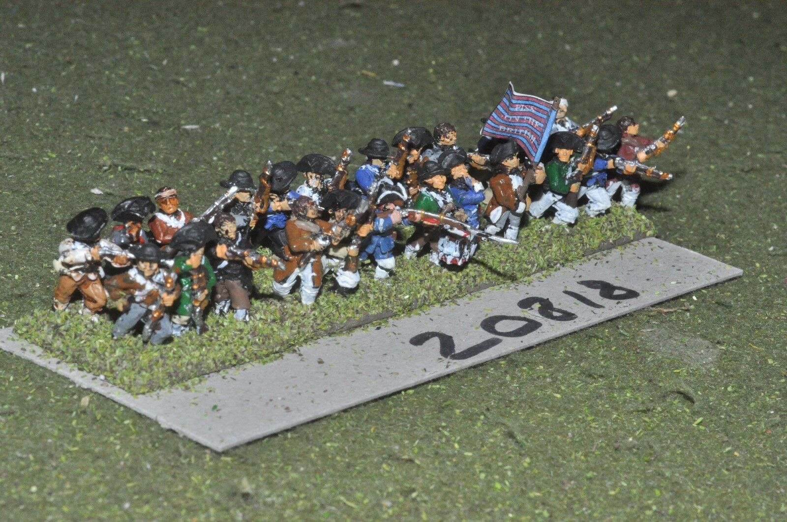 15mm AWI   american - infantry 24 figs - inf (20818)