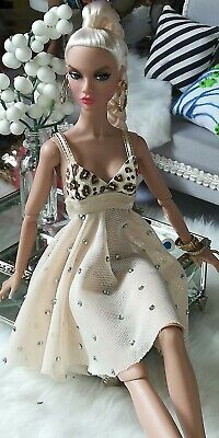 dollsydoll 12 inch fashion dress one size fits all Barbies inc is only dress