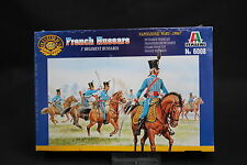 XU073 ITALERI 1/72 figurine 6008 French Hussars 1° Regiment Hussards 1806-7