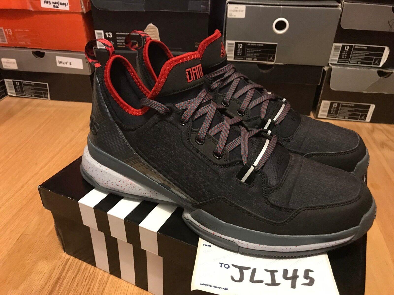 Men's Adidas Damian Lillard D Lillard 1 Size 13 shoes Sneakers Boost Crazy Ultra