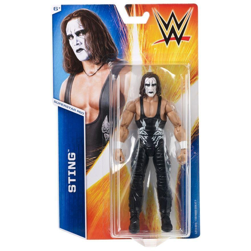 WWE Mattel Basic Series 55 Sting Wrestling Action Figure
