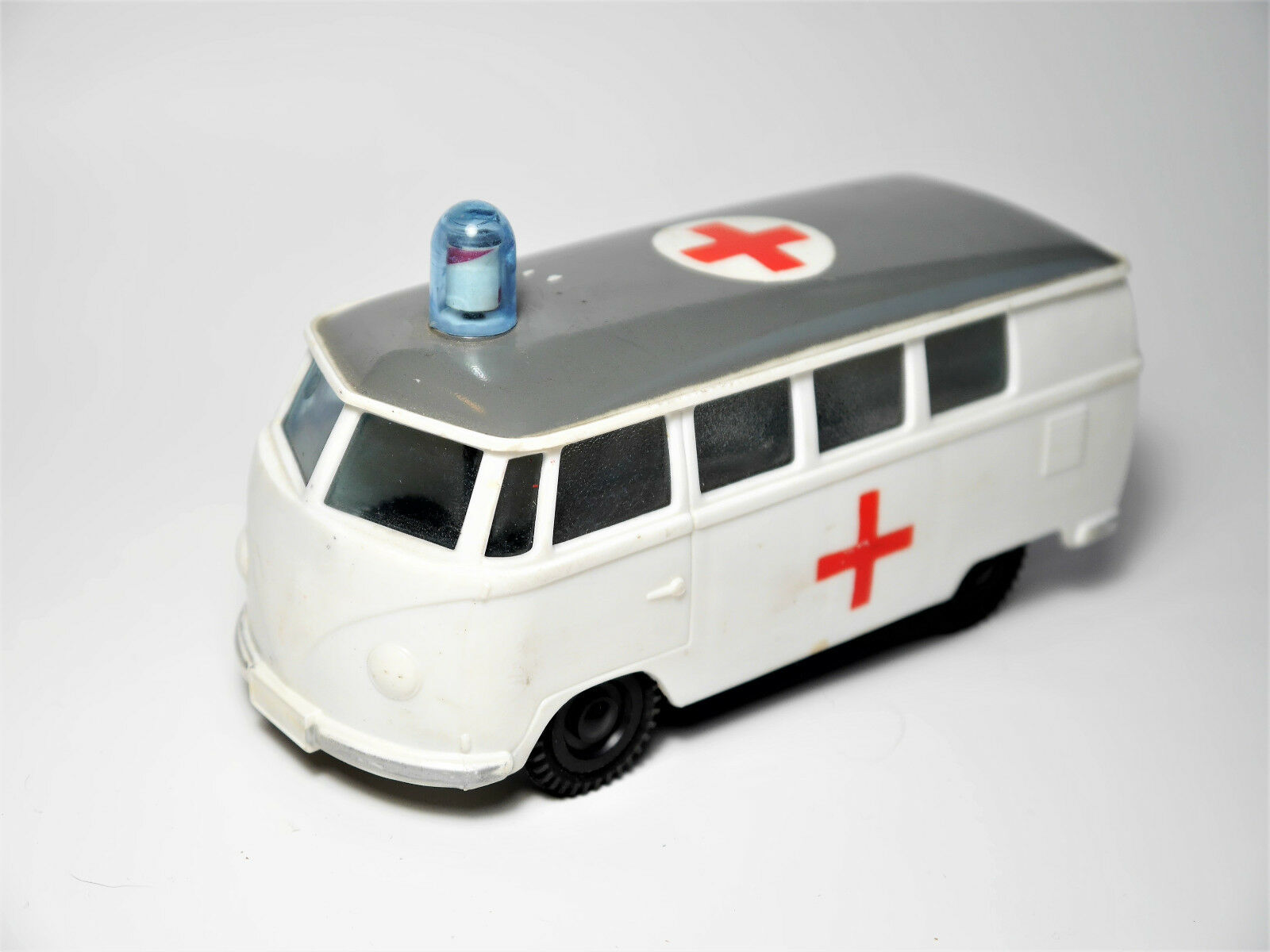 VW Type 2 t1 nez-Camionnette Window Bus rouge Cross Plastic friction ok Hong Kong 14 cm
