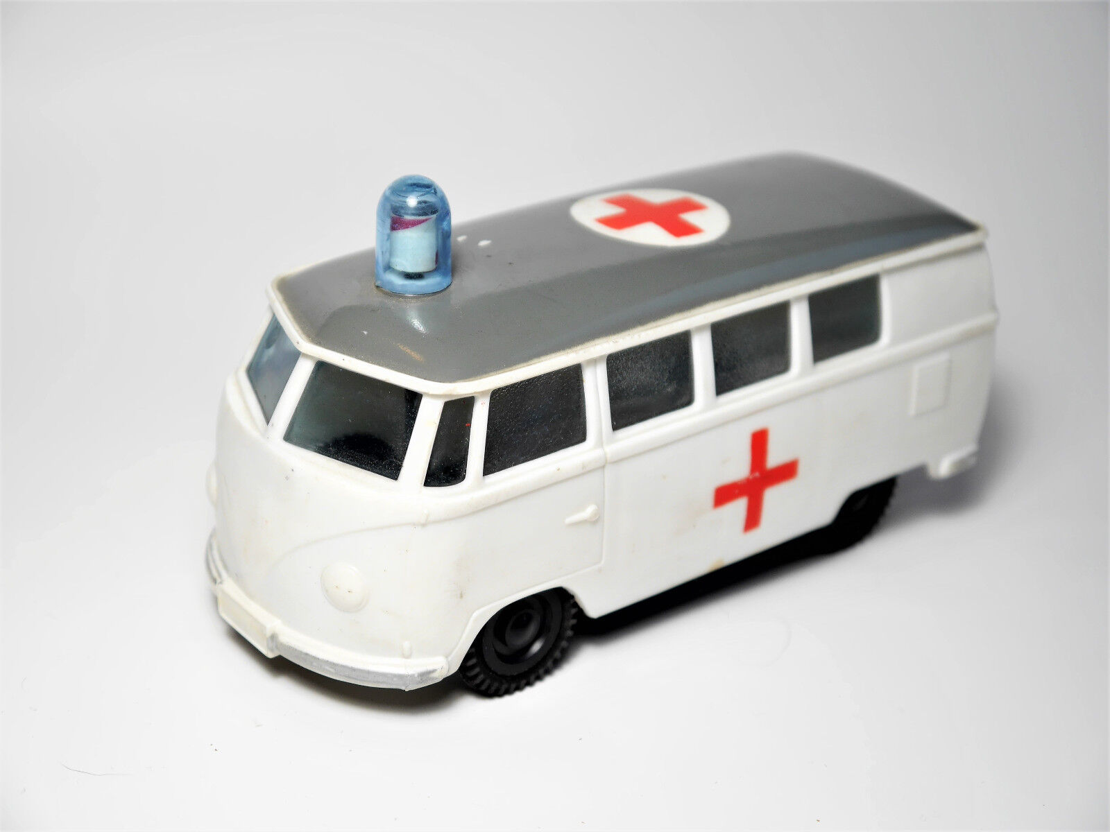VW Type 2 t1 nez-Camionnette Window  Bus rouge Cross Plastic friction ok Hong Kong 14 cm  point de vente