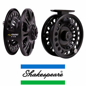 Shakespeare-Omni-Fly-Reel-6-7-or-7-8-Fishing-Lightweight-Quick-Release-Spool