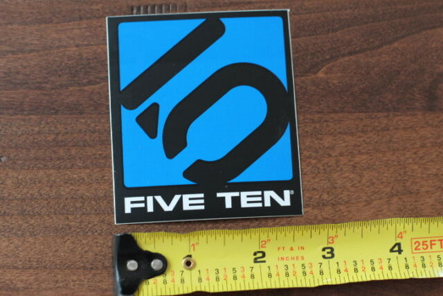 FIVE TEN 5.10 Rock Climbing Shoes STICKER Decal NEW Orange