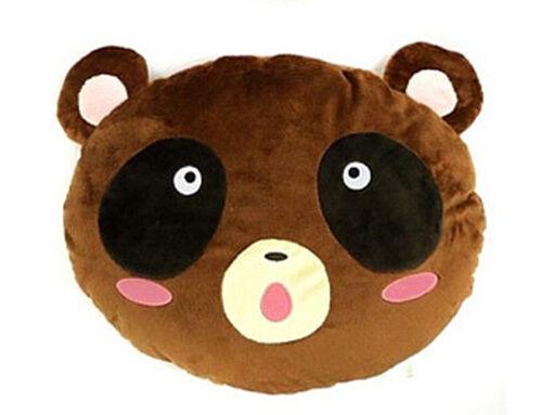 Monthly Girl Nozaki-kun Raccoon Face Blushing Cushion Plush 40cm TAI94800 USA