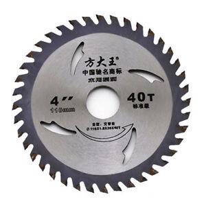 Alloy-4-in-environ-10-16-cm-40-T-Lame-de-scie-circulaire-pour-bois-Acrylique-Metal-Coupe-Cutter