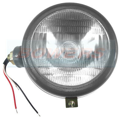 Conscientious Grey Tractor L/h Nearside Headlight Headlamp Outside Grille Fit Antique Tractor Parts & Accs