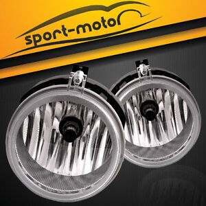 2008-2010 Dodge Challenger SE SXT R//T Fog Lights Lamps With Factory Style Switch