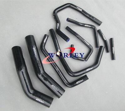 Silicone Radiator/&Heater Hose FOR TOYOTA LANDCRUISER HDJ80 1990-1997 91 92 93 94