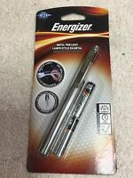 Led Metal Pen Light, Energizer, Bright Led, 35 Lumens, 2 Aaa Batteries Included