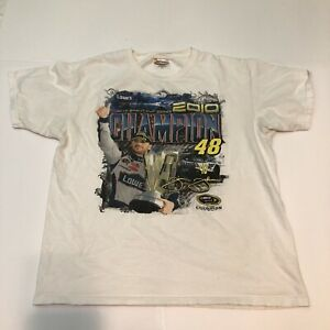 JIMMIE JOHNSON CHASE #48 TEE SHIRT 2010 VINTAGE SIZE XL