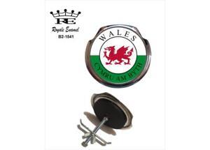 Royale Car Grill Badge & fittings - CYMRU AM BYTH WALES - B2.1541