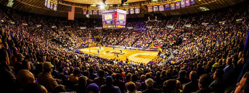 2018 LSU Tigers Basketball Season Tickets - Season Package (Includes Tickets for all Home Games)