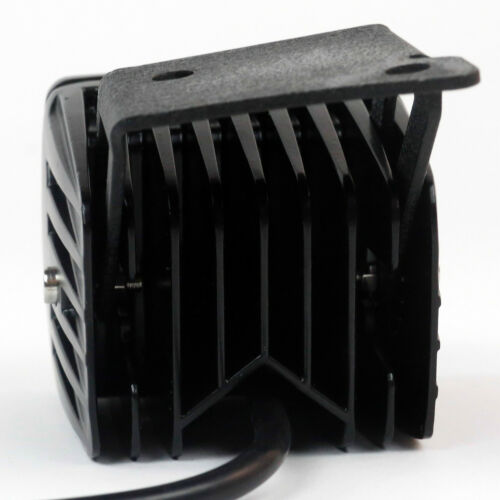 TurboMetal® 2 x 12W LED Spot Light//A-Pillar Mount Bracket For 07-16 Wrangler JK