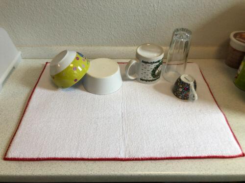 Abtropfmatte Micro Fibre 51x36cm Microfiber Cuisines Tapis spülmatte glasmatte