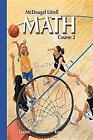 McDougal Littell Middle School Math: Practice Workbook, Level B (Student) Course 2 by McDougal Littel (Paperback / softback, 2003)
