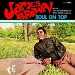 JAMES BROWN - SOUL ON TOP  CD  12 TRACKS INTERNATIONAL POP  NEUF