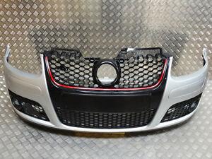 VW-Golf-MK5-GTI-Style-New-Front-Bumper-Silver-LA7W-1K0807217R