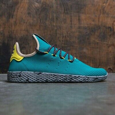 Adidas Da Uomo Ragazzi PW Tennis HU Pharrell Williams Sneakers CQ1872 UK 4 a 6 | eBay