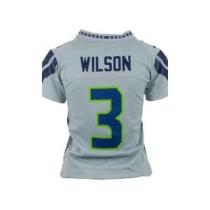online store c4b1a a0ff2 Details about Nike Seattle Seahawks Russell Wilson Jersey - Boys 8-20 XLARGE