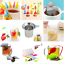 Silicone-Tea-Bags-Infuser-Diffuser-Loose-Leaf-Strainer-Herbal-Spice-Filter-Diver thumbnail 1