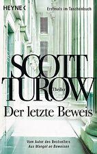 Turow, Scott - Der letzte Beweis: Thriller