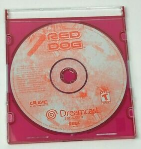 Red Dog: Superior Firepower for Sega Dreamcast / Disc Only / Tested / Rare