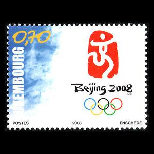 Luxembourg-2008-Jeux-olympiques-d-039-ete-de-jeux-de-Pekin-Sports-SC-1231-neuf-sans-charniere