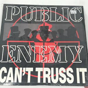 Public-Enemy-Can-039-t-Truss-It-Hip-Hop-Vinyl-Record-Original-1991