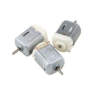 3 6 9 12pcs Dc 3v 6v 130 Miniature Dc Motor For Electric Toy Car