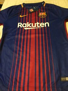 the latest a5a5c 6ceef Details about Nike Barcelona Home Jersey 2017/18 #10 Messi