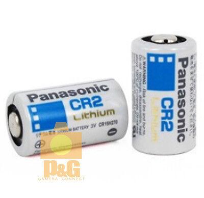 NEW PANASONIC CR2 Battery 2pcs // for Fujifilm in4stant camera Mini25 Mini50 SP1