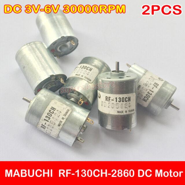 Mabuchi DC 6V 8100RPM 130 DC RF-130CH Micro Motor Toy Accessories RF-130CH-12250
