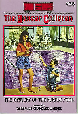 1 of 1 - The Mystery of the Purple Pool (The Boxcar Children Mysteries #38)-ExLibrary