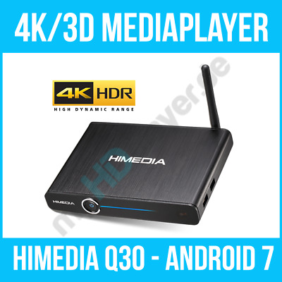 HIMEDIA™ Q30 4K (Ultra HD) HDR10 & 3D Mediaplayer Android Smart TV Box / Mini PC