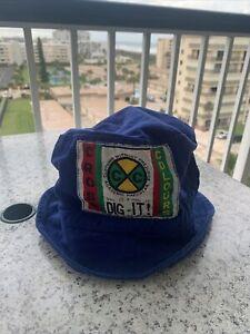 Vintage-Rare-90s-Cross-Colours-Bucket-Hip-Hop-Hat-Clothing-Without-Prejudice