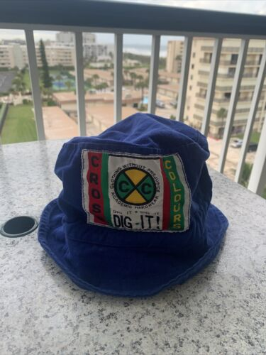Vintage Rare 90s Cross Colours Bucket Hip Hop Hat… - image 1