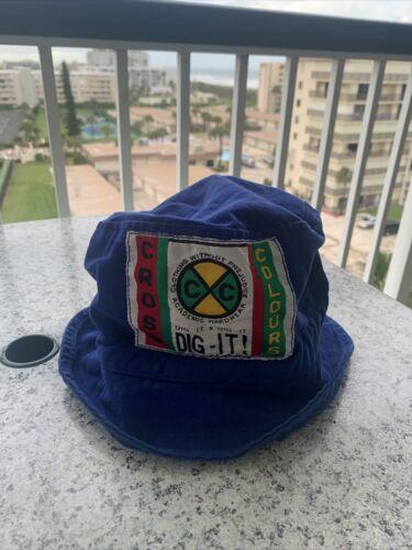 Vintage Rare 90s Cross Colours Bucket Hip Hop Hat