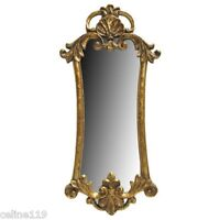Antique Gold Accent Wall Mirror Home Decor Shabby Chic Free Shipping