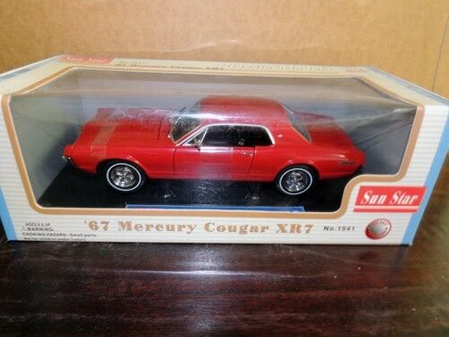 1 18 1967 1967 1967 Mercury Cougar xR7 by Sun Star 19a274